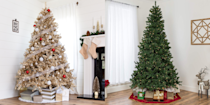 """<p>Fake Christmas trees aren't the plastic monstrosities of yesteryear. With more realistic silhouettes, tangle-free lights, and easy upkeep, there are plenty of <a href=""""http://www.housebeautiful.com/entertaining/holidays-celebrations/a7524/fake-christmas-trees-real-trees/"""" rel=""""nofollow noopener"""" target=""""_blank"""" data-ylk=""""slk:reasons to make the switch"""" class=""""link rapid-noclick-resp"""">reasons to make the switch</a> to an artificial Christmas tree now. For one, you won't find yourself vacuuming up loose pine needles until Valentine's Day. You'll also save a lot of money buying one tree and <a href=""""https://www.housebeautiful.com/lifestyle/g30215853/christmas-tree-storage-bags/"""" rel=""""nofollow noopener"""" target=""""_blank"""" data-ylk=""""slk:stowing it away"""" class=""""link rapid-noclick-resp"""">stowing it away</a> for use year after year. To top it all off, you can easily get whatever style you like without having to search the local tree farm in the cold. </p><p>Whether you want a tall fir, a short spruce, a pencil-thin pine, or even a half-tree for an ultra-small space, there are plenty of options for you out there. And if fun, kitschy colors are what you seek (yes, <a href=""""https://www.housebeautiful.com/design-inspiration/a29714347/pink-christmas-trees/"""" rel=""""nofollow noopener"""" target=""""_blank"""" data-ylk=""""slk:pink Christmas trees"""" class=""""link rapid-noclick-resp"""">pink Christmas trees</a> exist, and <a href=""""https://www.housebeautiful.com/entertaining/holidays-celebrations/a25474392/black-christmas-tree-trend/"""" rel=""""nofollow noopener"""" target=""""_blank"""" data-ylk=""""slk:black trees"""" class=""""link rapid-noclick-resp"""">black trees</a> are the latest trend, too), there are <em>plenty</em> to choose from. No matter what you're in the market for, these are the best fake trees you can buy this year. All you need now are <a href=""""https://www.housebeautiful.com/entertaining/holidays-celebrations/tips/g505/christmas-tree-decoration-ideas-pictures-1208/"""" rel=""""nofollow noopener"""" target=""""_blank"""" data-"""