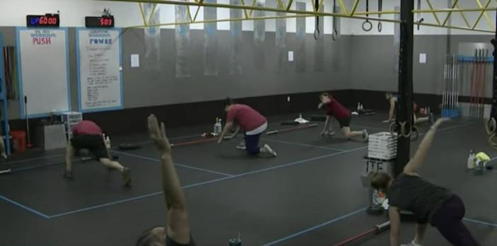 Texas gyms reopen
