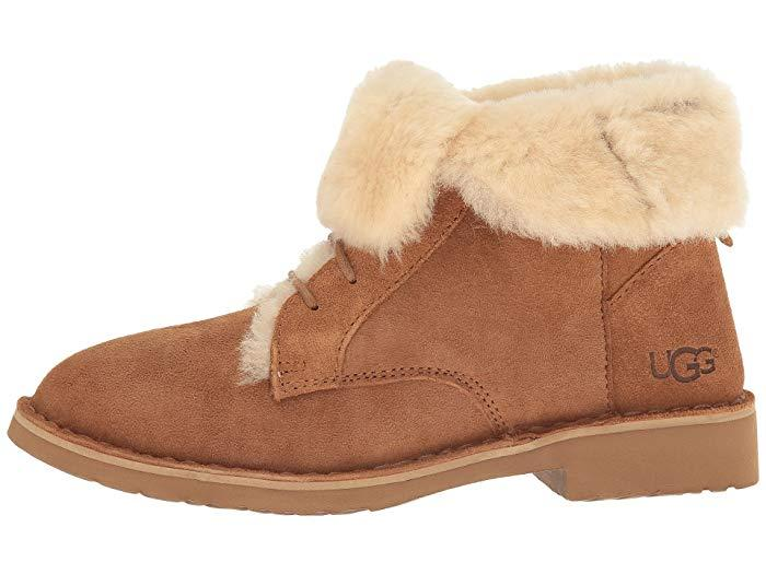 The Ugg Quincy Bootie comes with otherworldly comfort and a perfect fit. (Photo: Zappos)