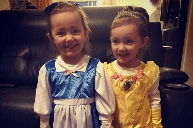 Belle and Beauty halloween customes