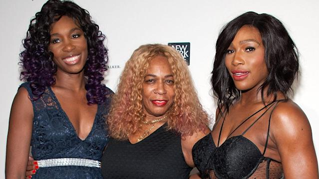 Thank you is the simple message Serena Williams has for her mom.