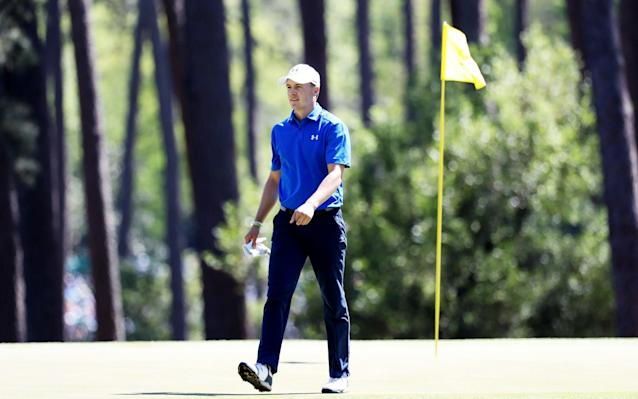 <span>It was a disappointing final round for 2015 champion Jordan Spieth</span> <span>Credit: Getty Images </span>