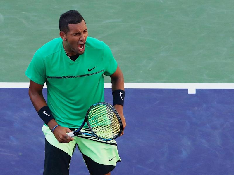 Kyrgios is enjoying a promising purple patch (Getty)