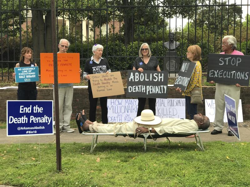 Judge's anti-death penalty protest riles conservatives