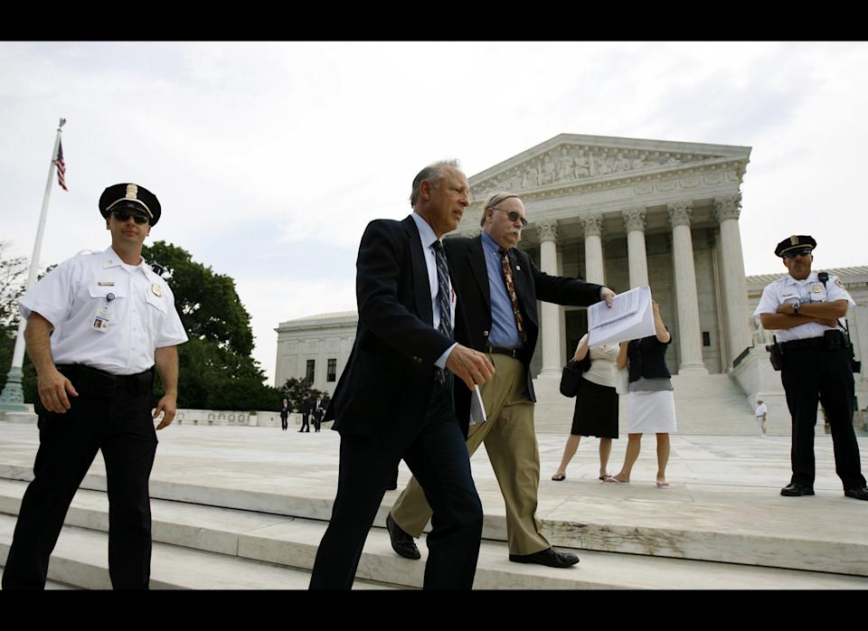 In June of 2008, the United States Supreme Court upheld the verdict of a lower court ruling the D.C. handgun ban unconstitutional in the landmark case <em>District of Columbia v. Heller</em>.