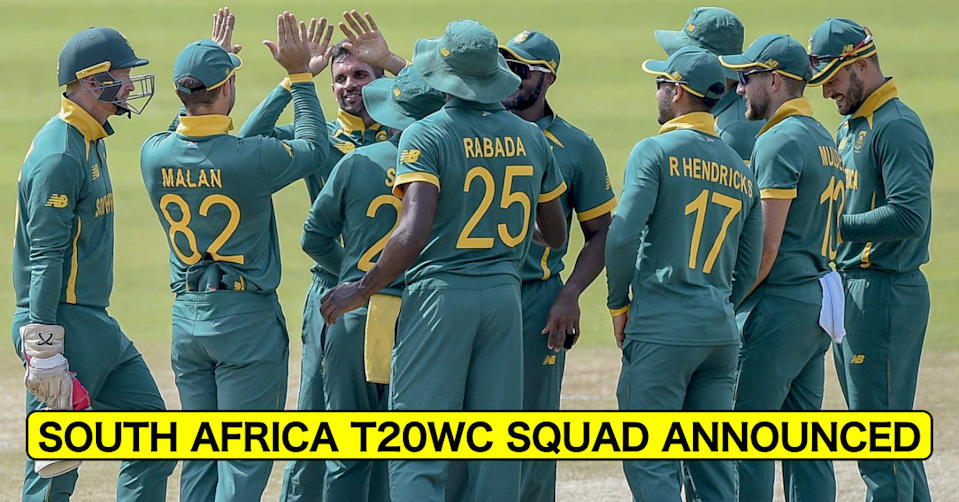 Faf du Plessis Misses Out As South Africa Announce 15-member Squad For ICC T20 World Cup 2021