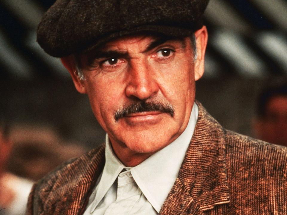 <p>Sean Connery in 'The Untouchables'</p>Rex Features