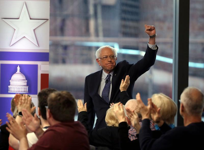 Bernie Sanders leads Joe Biden in Emerson national poll of 2020 contenders