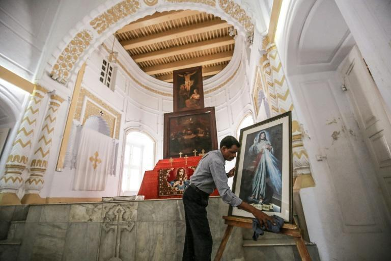 Shankar Ghosh is the full-time caretake of the Armenian Apostolic Church of the Holy Resurrection, a 240-year-old church in the Bangladeshi capital