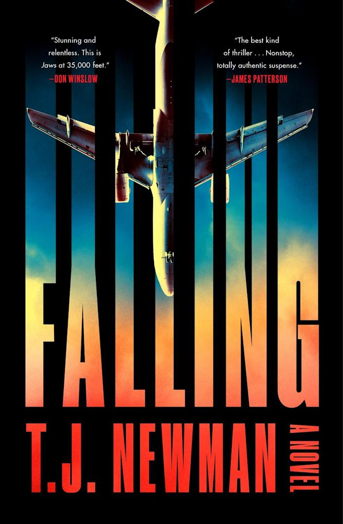 """The cover of the book """"Falling,"""" by T.J. Newman"""