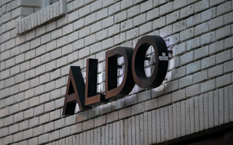 Shoe chain Aldo is the latest retailer to collapse - PA