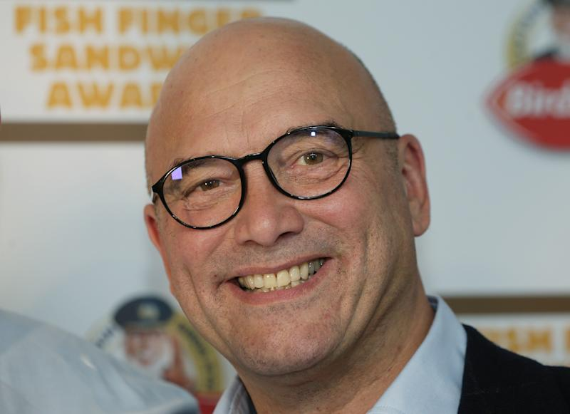 "File photo dated 16/02/17 of presenter Gregg Wallace, whose wife has dismissed the couple's age gap as ""just a number""."