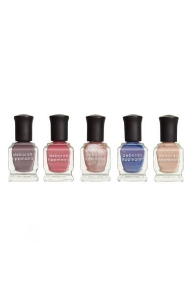 b9aa4c83da5 You can grab this five-piece set of gorgeous Deborah Lippman nail colors  for only $29, which is about half its normal price. If your shopping basket  isn't ...