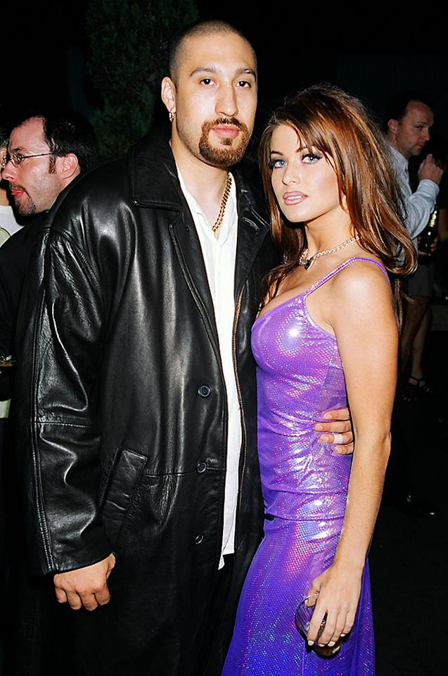 B Real and Carmen Electra (Photo by Jeff Kravitz/FilmMagic)