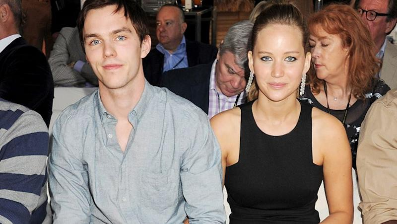JLaw and her ex Nick. Source: Getty