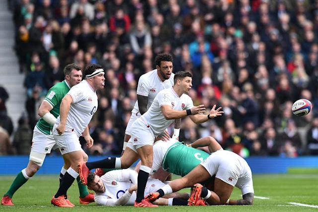 Swing Low, Sweet Chariot has been the official anthem of the England rugby union team: AFP via Getty Images