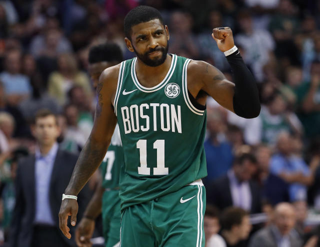 There was no stopping Kyrie Irving on Thursday. (AP Photo)