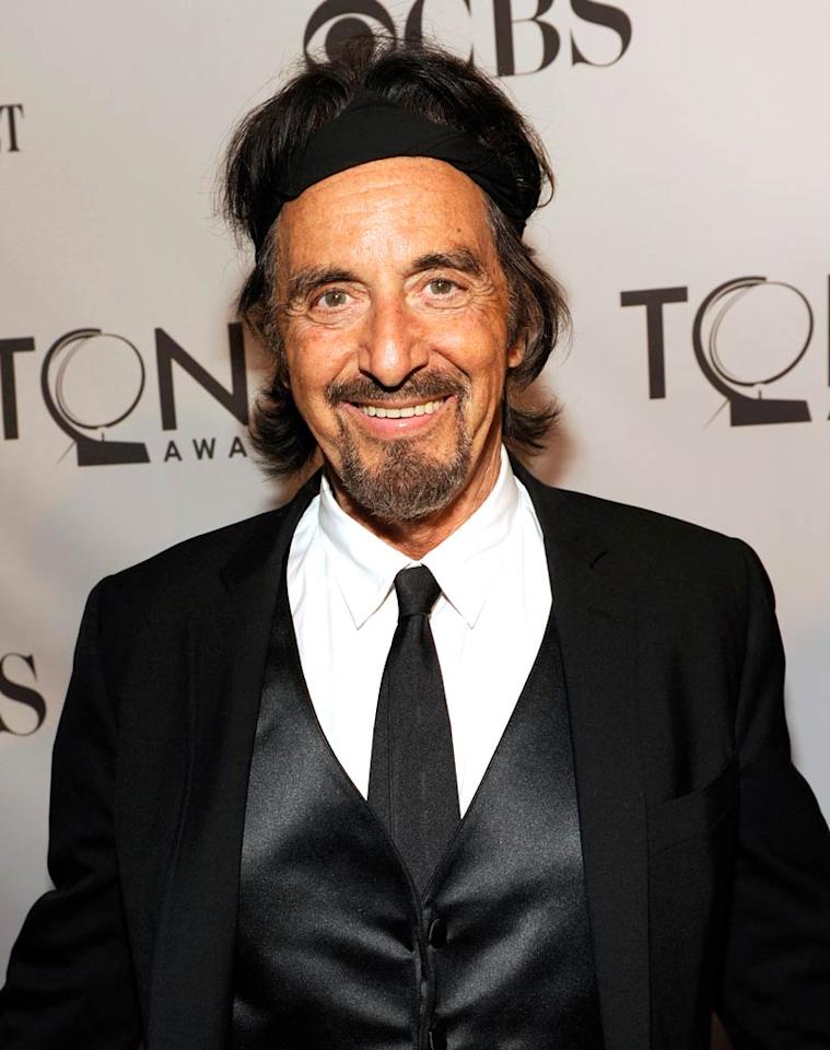 "And last, but certainly not least ... 71-year-old Al Pacino ... wearing a headband ... not as a joke ... to a televised, black-tie affair. Wow.   Follow What Were They Thinking?! creator, <a href=""http://bit.ly/lifeontheMlist"" target=""new"">Matt Whitfield</a>, on Twitter! Kevin Mazur/<a href=""http://www.wireimage.com"" target=""new"">WireImage.com</a> - June 12, 2011"
