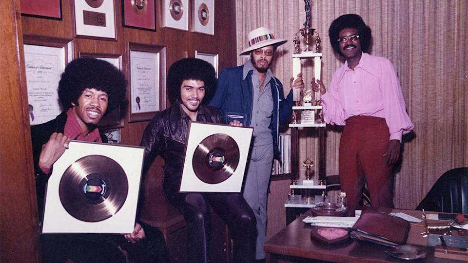 """The Chi-Lites' first single, """"Give It Away,"""" reached the top 10 on Billboard's soul chart. - Credit: Courtesy of Chi-Lites"""
