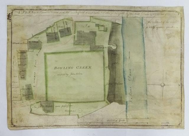Sheffield Castle plans