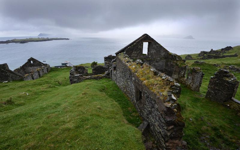 The Great Blasket Island off the coast of County Kerry has proved a major draw - Julian Simmonds