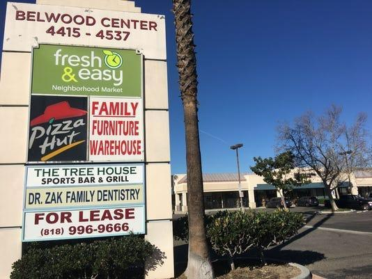 A developer plans to tear down a shopping center in Simi Valley to build hundreds of new homes, including 83 affordable units. But elected officials have postponed all land-use hearings, blaming the pandemic.