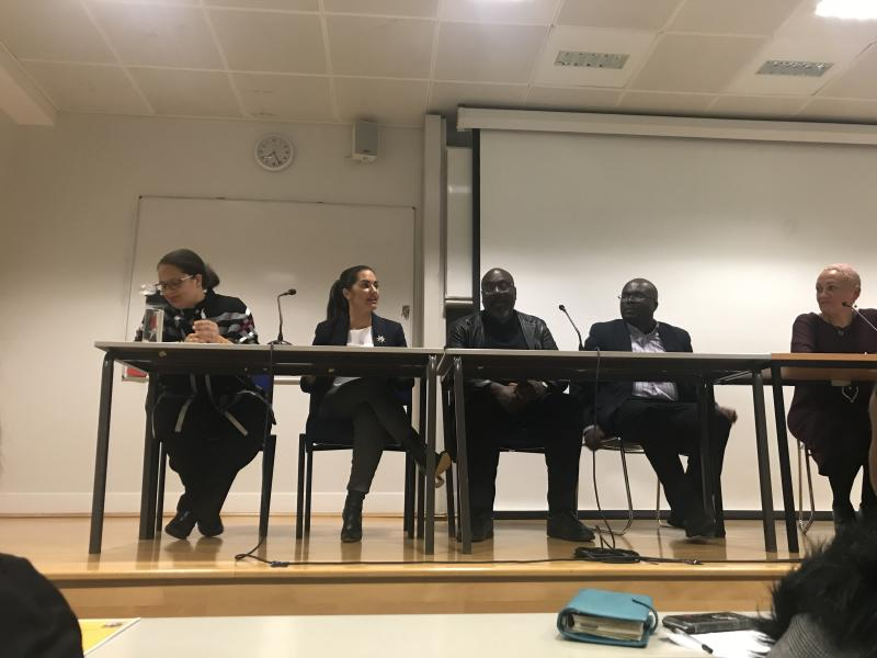 The panel included Dr Gabriella Beckles-Raymond, Rachel C Boyle, Dr Anthony Reddie and Dr William Ackah