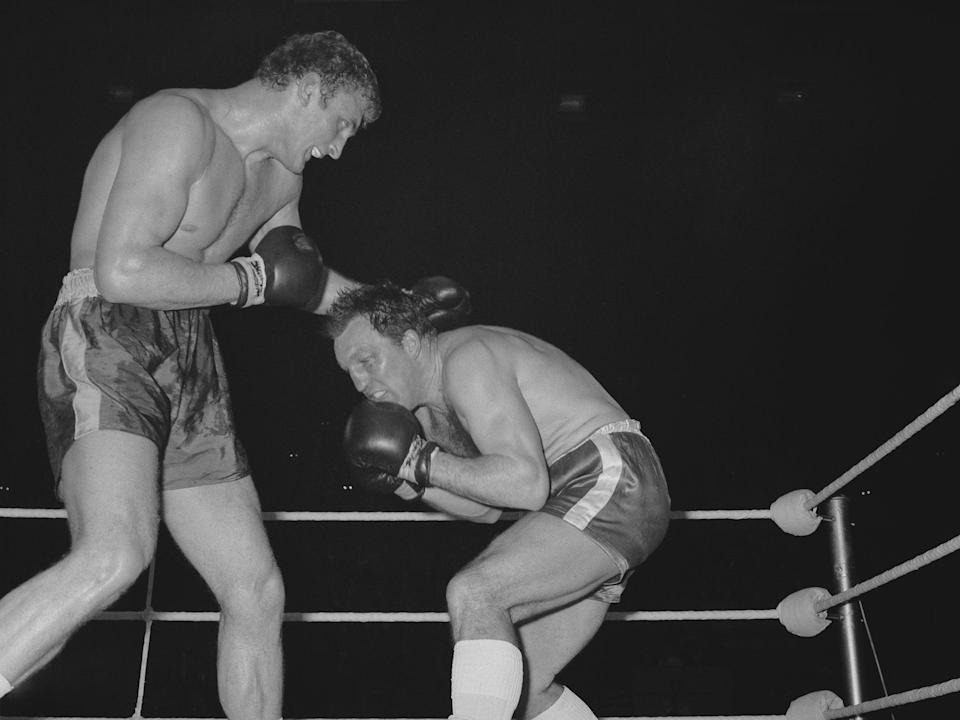 Fighting Joe Bugner before a five-round defeat at Wembley's Empire Pool in 1970 (Getty)