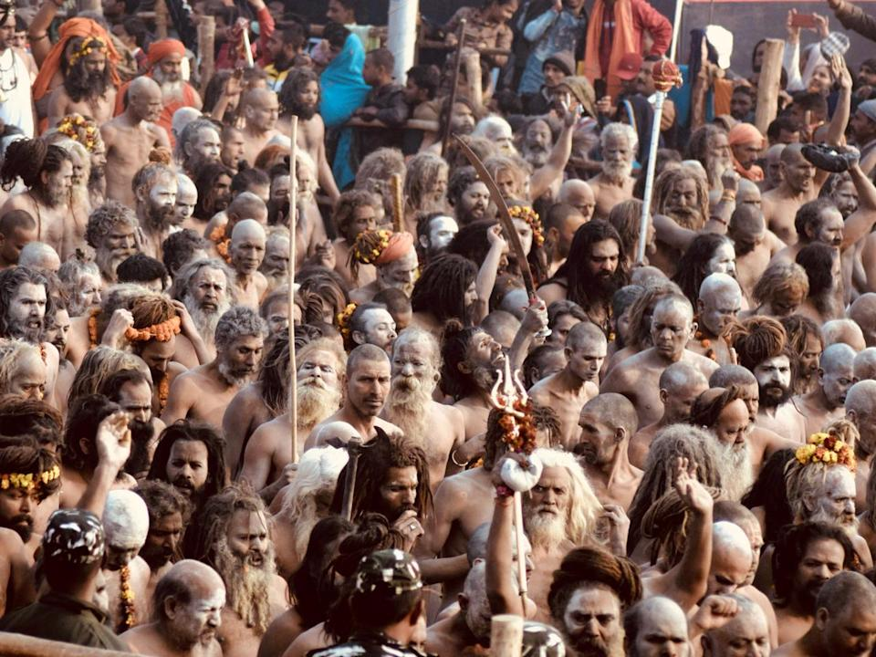 Maghi Purnima is an important date in the Kumbh Mela calendar