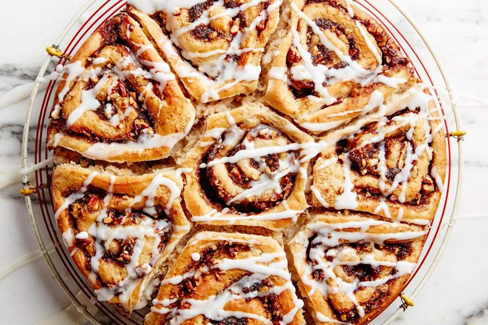 """Perhaps you heard that everyone was making cinnamon rolls this year. Well, according to our data, this is the recipe they were making. <a href=""""https://www.epicurious.com/recipes/food/views/our-favorite-cinnamon-rolls-51251020?mbid=synd_yahoo_rss"""" rel=""""nofollow noopener"""" target=""""_blank"""" data-ylk=""""slk:See recipe."""" class=""""link rapid-noclick-resp"""">See recipe.</a>"""