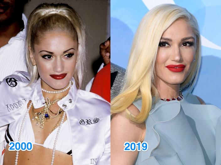 gwen stefani then and now