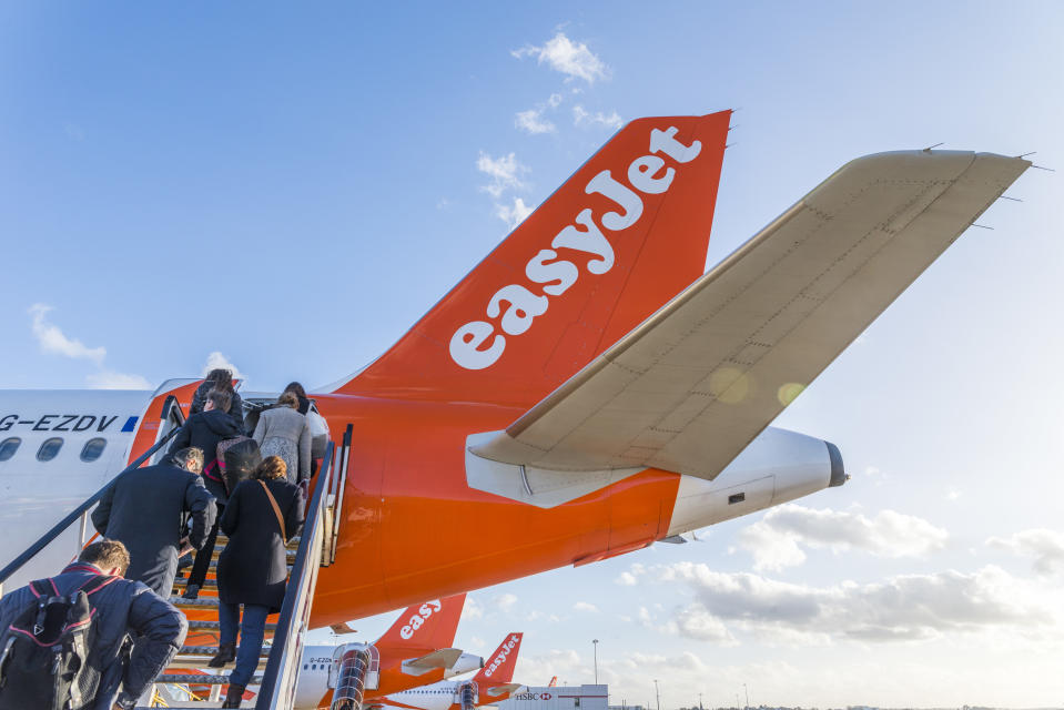 """With our unmatched short haul network and trusted brand, easyJet is well positioned as customers return to the skies in 2021,"" EasyJet said. Photo: Getty Images"