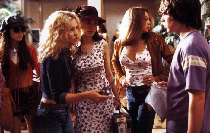 <p>We could go on and on about the style of <em>Almost Famous</em>'s Penny Lane, but one of her most underrated outfits involved these '70s-inspired denim jeans. </p>
