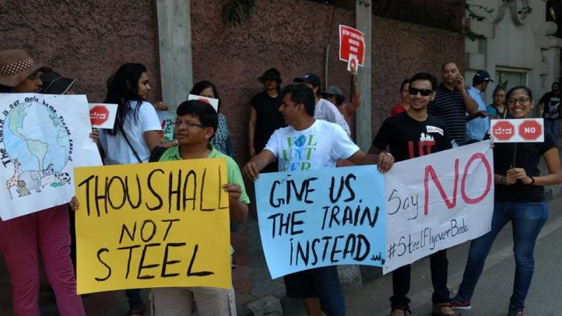 Rs 1,800-Cr Bengaluru Steel Flyover Project Junked After Protests