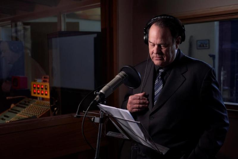 Dan Aykroyd narrating 'Hotel Paranormal'