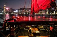 The Hong Kong government has set up a dedicated hotline for people to report social distancing breaches on boats and at piers