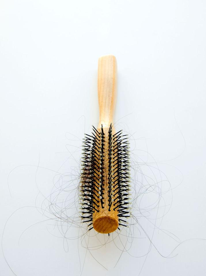 """<p>You want to make sure to clean out those hairy brushes, which are breeding grounds for germs and old residue — things no one wants in their hair. """"Remove the hair from the brush after each styling session,"""" advises Elizabeth Cunnane Phillips, a New York-based trichologist. Once a month, clean brushes and combs with a little baking soda and water, dissolving well, soaking for a couple of minutes, and rinsing thoroughly. The baking soda removes oils and products that can get stuck in the bristles.</p>"""