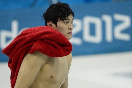 China's Sun Yang leaves the pool after a training session on day 5 of the swimming events at the London 2012 Olympic Games, on August 1. Sun, his place in China's sporting pantheon assured after his landmark triumph in the 400m freestyle, has his sights on a second Olympic gold in the 1,500m freestyle starting on Friday