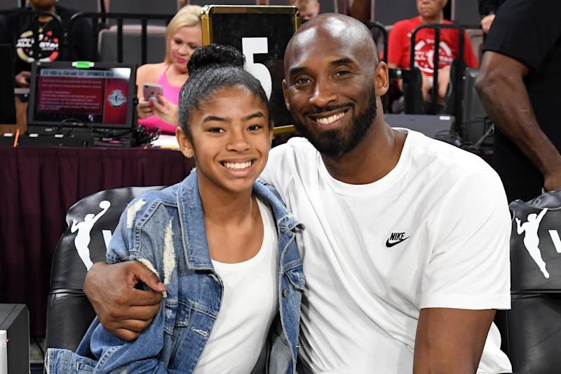 Kobe Byrant and his daughter Gianni (Getty Images)