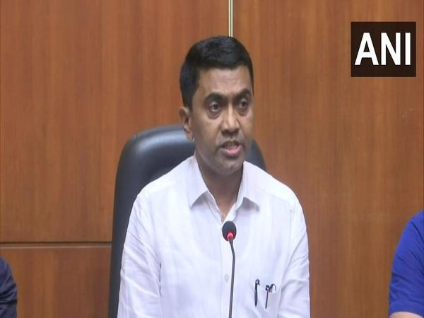 Goa Chief Minister Pramod Sawant addressing a press conference in Panaji on Thursday.