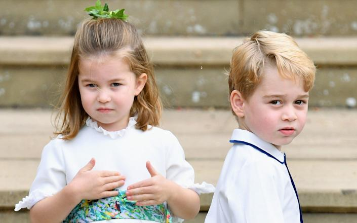 Princess Charlotte and Prince George - Getty Images
