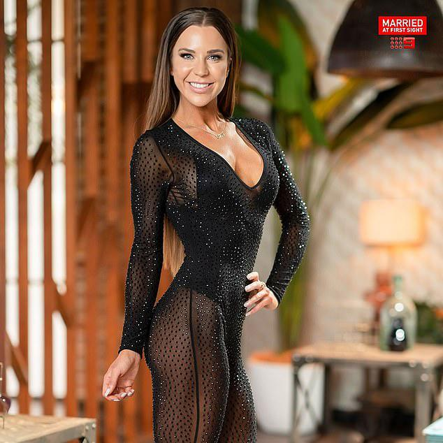 mafs coco racy bodysuit dinner party outfit