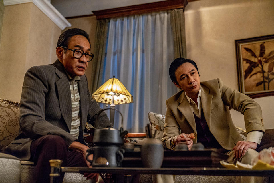 Tony Leung Ka-fai (left) and Francis Ng in Once Upon A Time In Hong Kong. (Photo: Shaw Organisation)