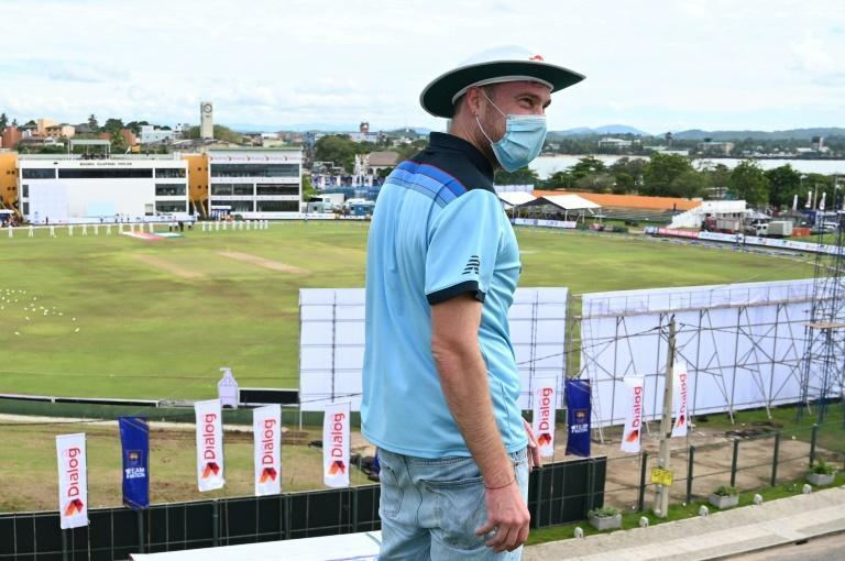 Lewis wanted to watch the match from the ramparts of Galle Fort