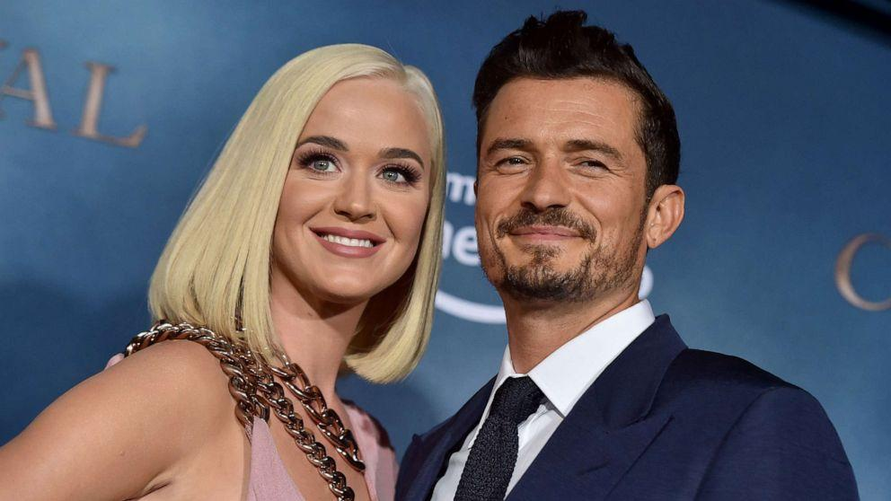 Katy Perry talks her wedding and what she loves about her fiance Orlando Bloom (ABC News)
