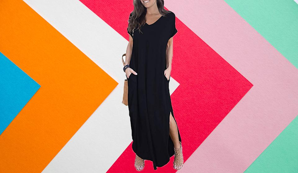 The ultimate dress for layering. (Photo: Amazon)
