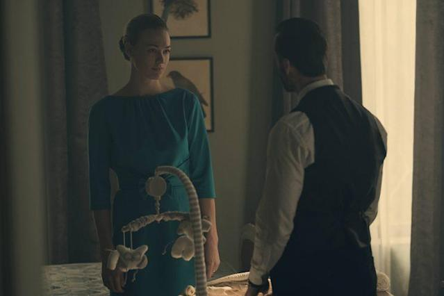 Yvonne Strahovski and Joseph Fiennes in 'The Handmaid's Tale' (Photo: Courtesy of Hulu)