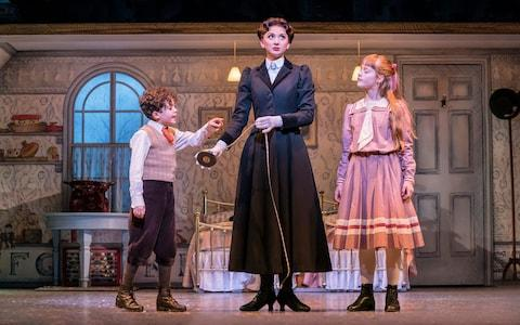 Mary Poppins at the Prince Edward Theatre - Credit: Johan Persson