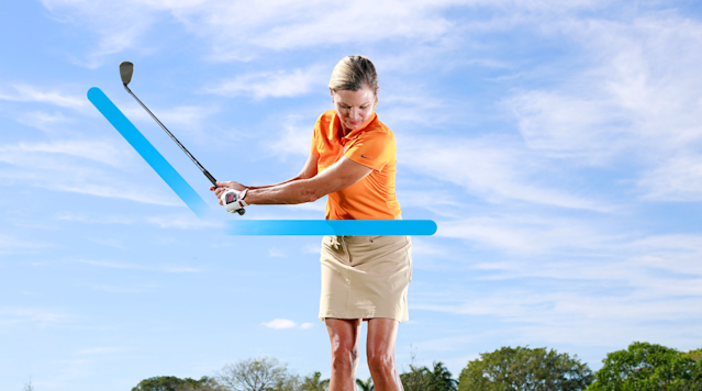 Your new bump-and-run backswing.