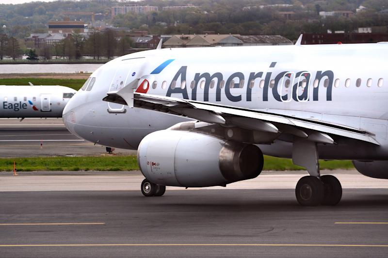 Woman Sues American Airlines for Allegedly Locking Support Dog in Plane's Restroom : Report